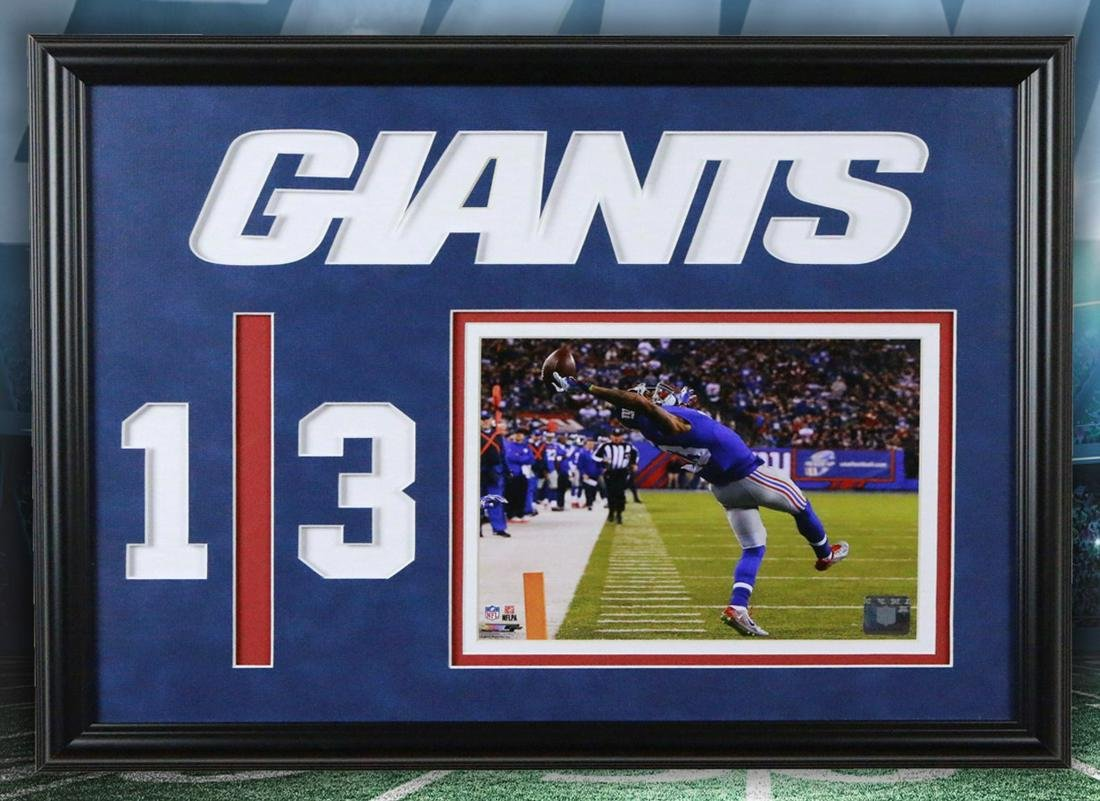 Odell Beckham New York Giants 20x16 Photofile Unsigned