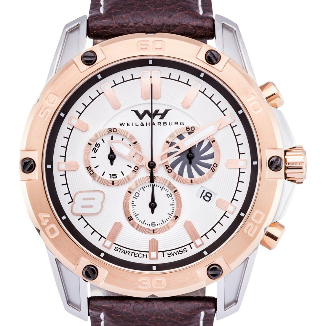 Weil & Harburg Swiss Chronograph Huxley Mens Watch