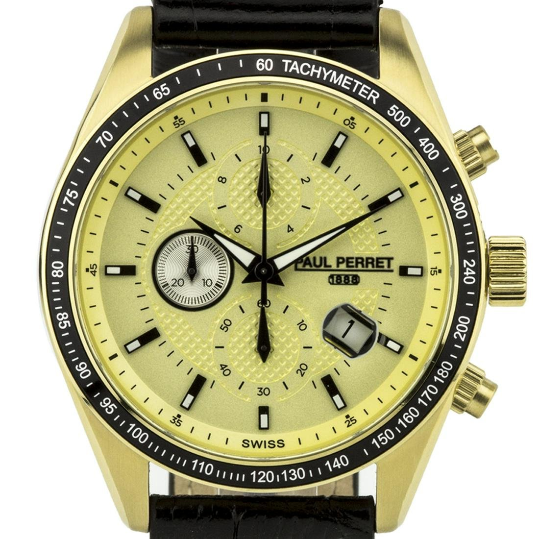 Paul Perret Esperto Men's Swiss Chronograph Watch