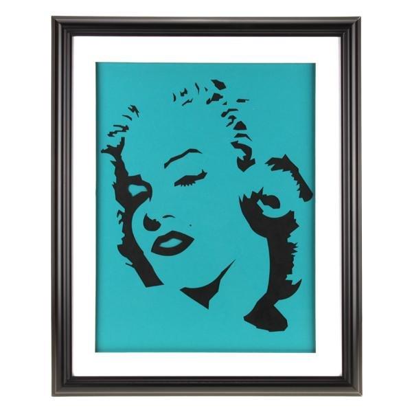 Marilyn Monroe Custom Pop Art 20x16 Frame