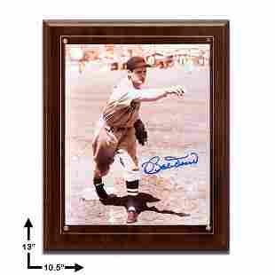 Bobby Doerr Boston Red Sox 8x10 Plaque GFA