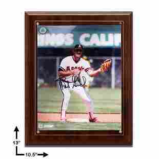 Bobby Grich Los Angeles Angels 105x13 Cherry Wood