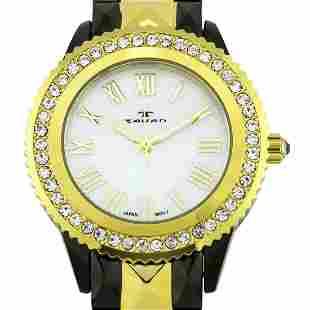 Tavan Luxury Swarovski Crystal Bezel Ladies Watch
