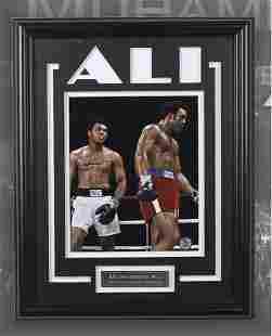 Muhammad Ali Heavyweight Champ 12x16 SignedGFA