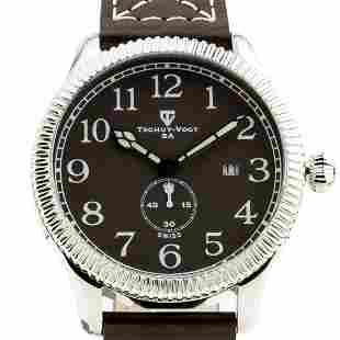 TschuyVogt Cavalier Mens Watch Sapphire crystal