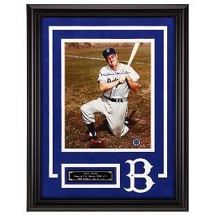 Duke Snider LA Dodgers 12x16 autograph 8x10v GFA