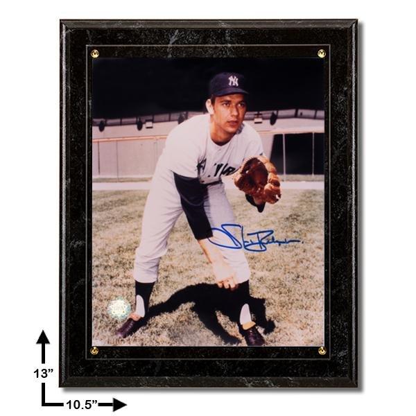 Stan Behnsen New York Yankees 10.5x13 Marble Plaque