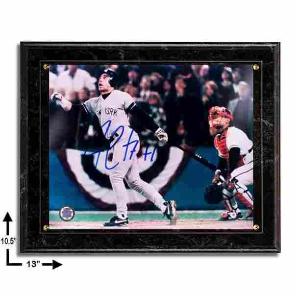 Jim Leyritz New York Yankees 10.5x13 Marble Plaque