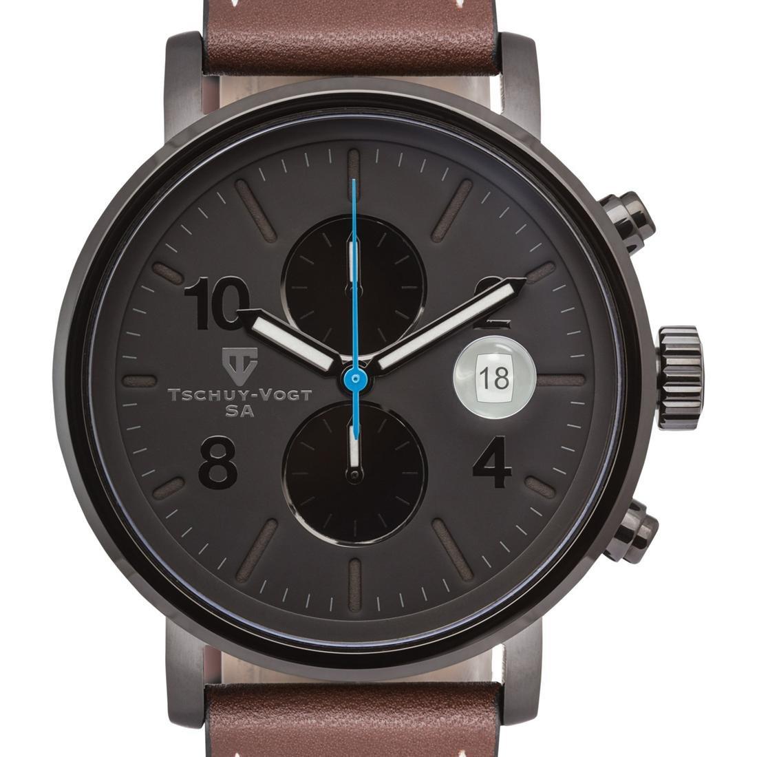 Tschuy-Vogt SA M60 Patton Chronograph Mens Watch