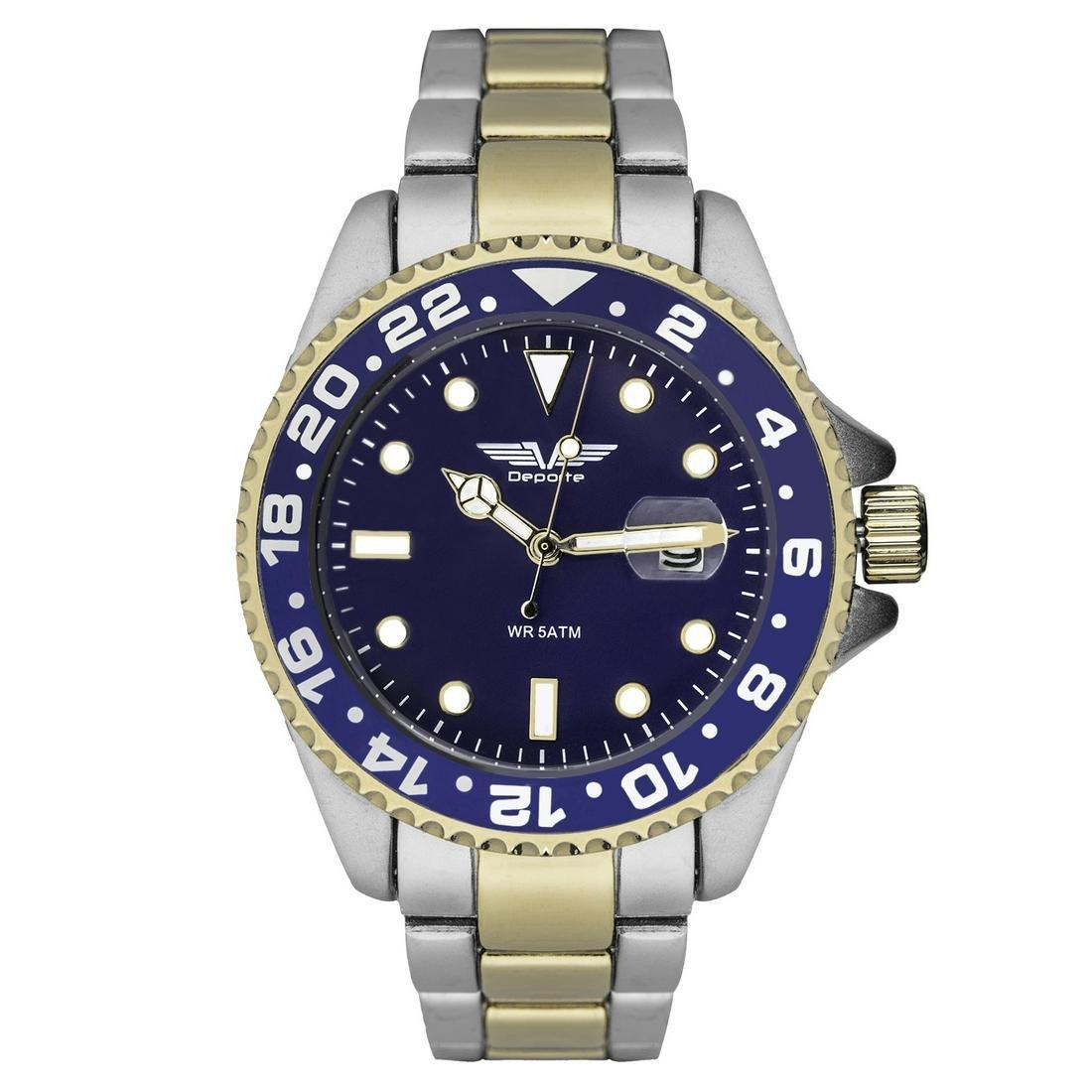 Deporte Pacific Men's Diver Style Watch
