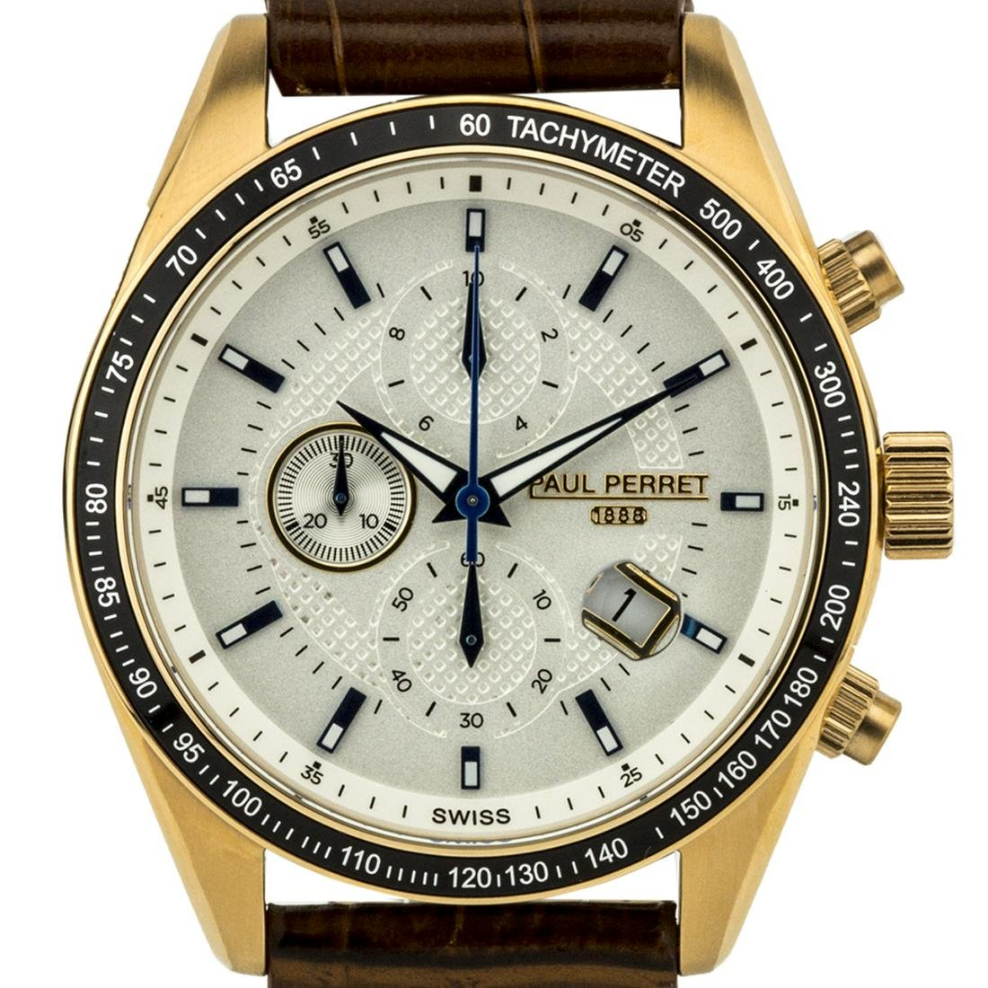 Paul Perret Esperto Mens Chronograph Watch