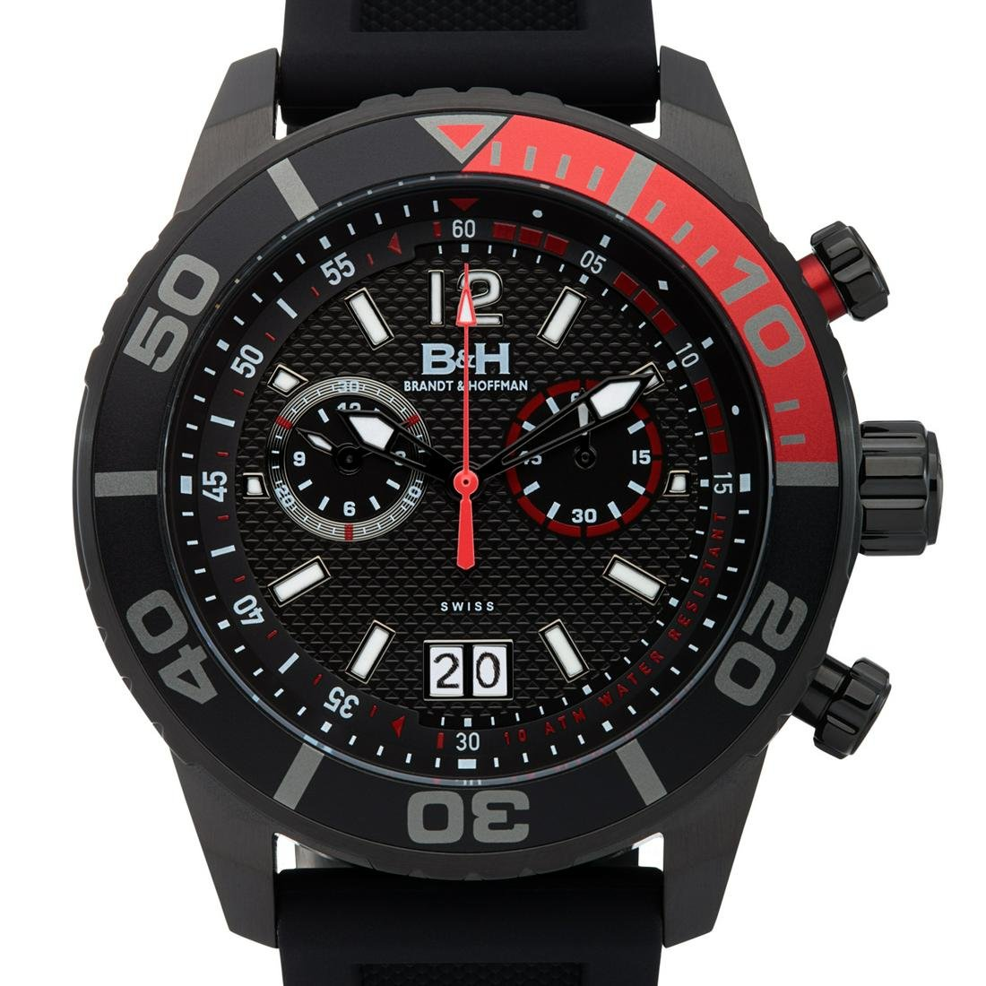 Brandt & Hoffman Swiss Chronograph Bayliss Mens Watch