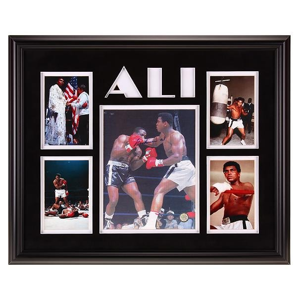 Muhammad Ali Heavyweight Champ 20x16autograph GFA