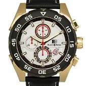 Buech  Boilat Torrent Mens Chronograph 44mm Case Watch