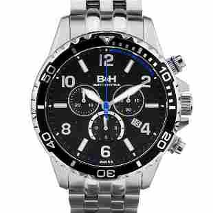 Brandt & Hoffman Men's chronograph, Swiss Made
