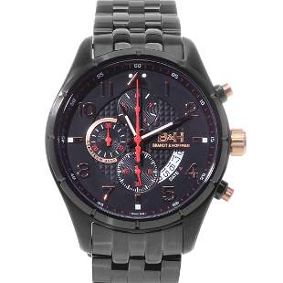 Brandt & Hoffman 44 Case Swiss Chronograph Watch