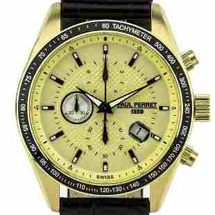 Paul Perret Esperto Men's Swiss Chronograph Watch