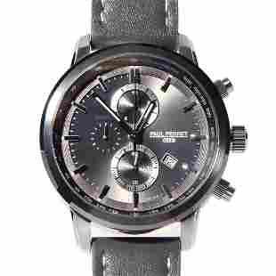 Paul Perret Sorel Men's Swiss Chronograph Watch - Grey