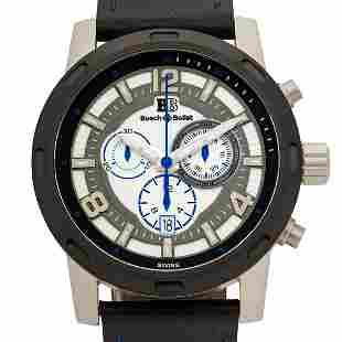Buech & Boilat Baracchi 46m Case Swiss Chronograph