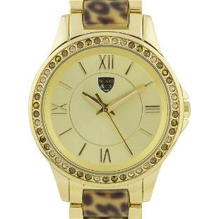 Picard And Cie 38mm Case Leopard Print Ladie Watch