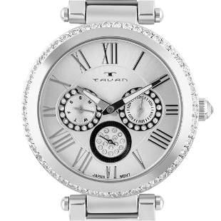 Tavan 41mm Case Luxury Multi-Function Ladies Watch