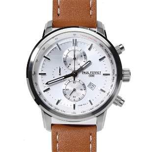 Paul Perret Sorel Men's Swiss Chronograph Watch - Light