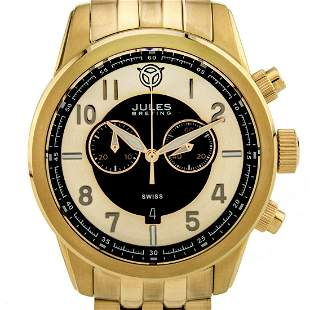 Jules Breting Men's Swiss Quartz Chronograph, Sapphire
