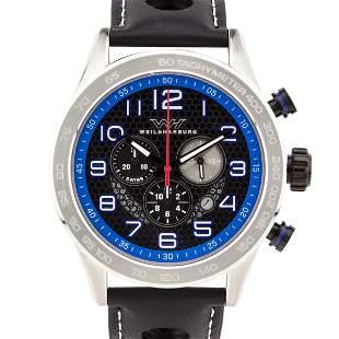 Weil & Harburg Karkin Mens Chronograph 49mm Case Watch