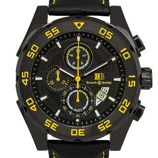 Buech & Boilat Torrent Chronograph 44mm Case Watch