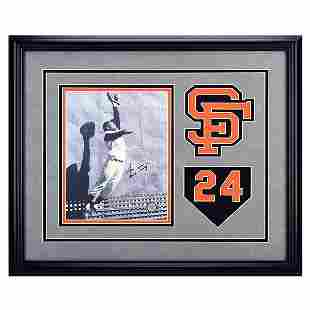 Willie Mays San Francisco Giants 20x16 Signed GFA
