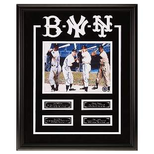 Kings Of New York Custom Frame 20x16 Signed GFA