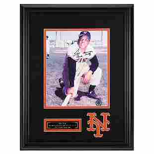 Willie Mays San Francisco Giants Signed GFA
