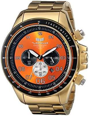 VESTAL ZR3 Chronograph Orange Men's Watch