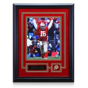 Joe Montana San Francisco 49ers Frame Signed GFA