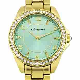 Jeanneret 41mm Case Crystal Bezel Ladies Watch