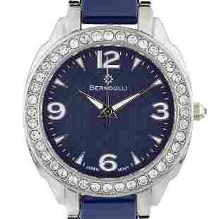 Bernoulli 39mm Case Crystal Bezel Ladies Watch