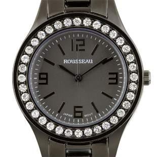 Rousseau Luxury Crystal Bezel Ladies Watch
