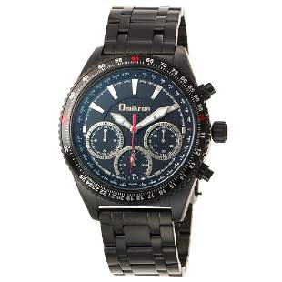 Omikron Mens Raptor Swiss Chronograph Watch
