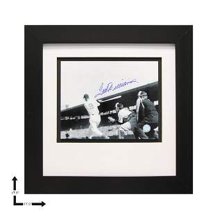 Ted Williams Boston Red Sox Gallery Framed GFA
