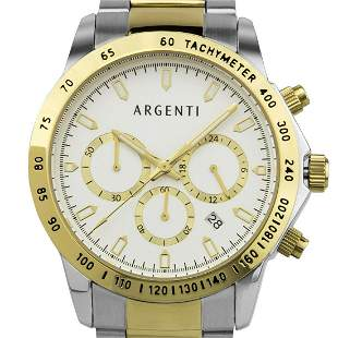 Argenti Multi-Function Chronograph 43mm Case Watch