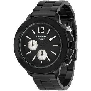 Vestal Men's Yacht Stainless Steel Black Watch