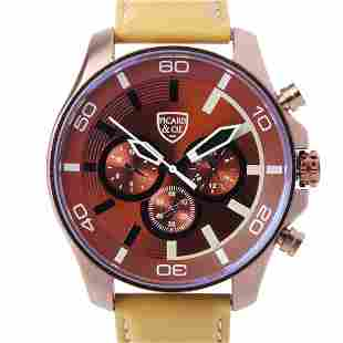 Picard & Cie Excalibur D-T Brown Men's Watch