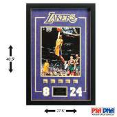 Kobe Bryant Los Angeles Lakers Showcase 5-Rings Box