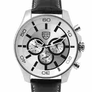 Picard & Cie Excalibur D-T Silver Men's Watch