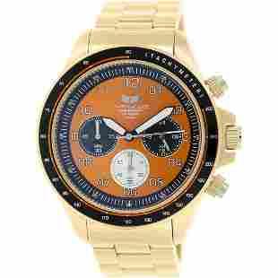 Vestal Men Zr-2 Gold Stainless-Steel Quartz Watch