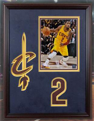 Kyrie Irving Cavaliers 20x16 Photofile Unsigned
