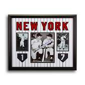 Billy Martin & Mickey Mantle Yankee Greats Signed