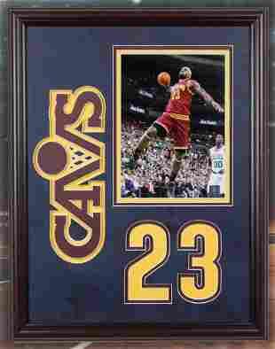 Lebron James Cleveland Cavaliers PhotofileUnsigned