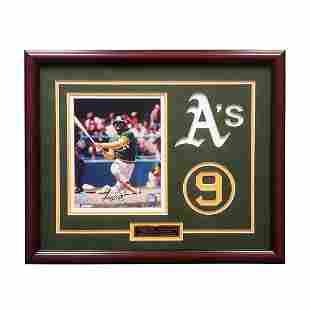 Reggie Jackson Oakland Athletics 20x16 Showcase GFA