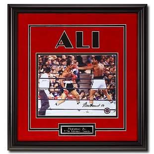 Muhammad Ali Heavyweight Champ 15x16 Signed GFA